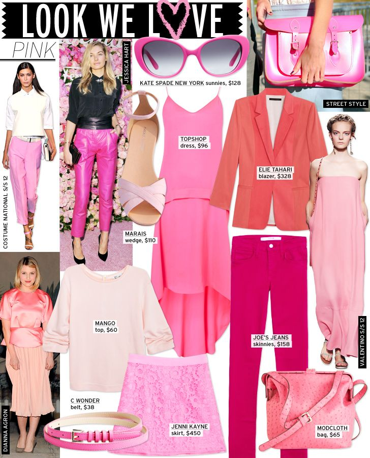 I'm surprisingly loving pink at the moment too. Considering the first pink thing I bought was only a month ago!