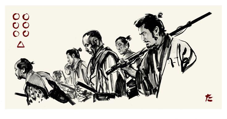 http://vincehardy.com/wp-content/uploads/2013/04/seven_samurai_greg_ruth.jpg
