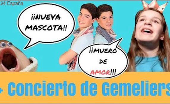GEMELIERS EN CONCIERTO + MASCOTA DEL CANAL //Juegos y Juguetes en Familia