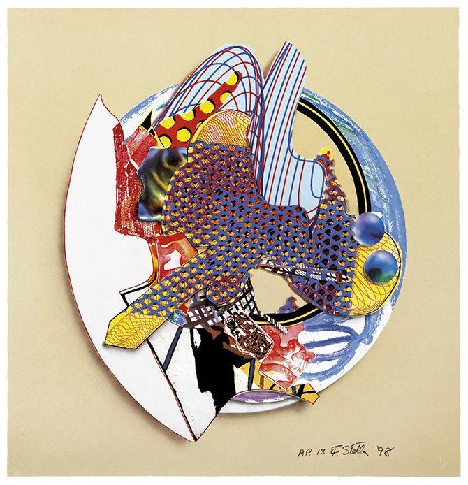 Frank Stella - Melt