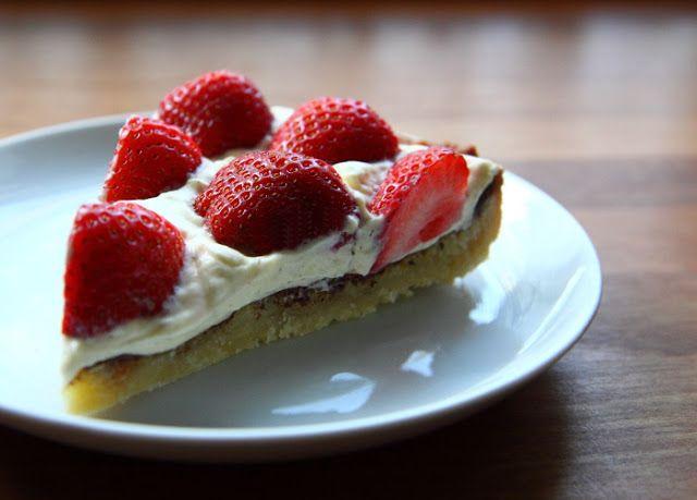 Jordbærtærte - en sommerklassiker