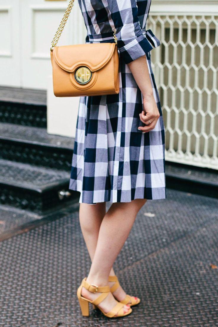 Kyran low freelance fashion stylist from london sam way adon - Gingham Shirtdress