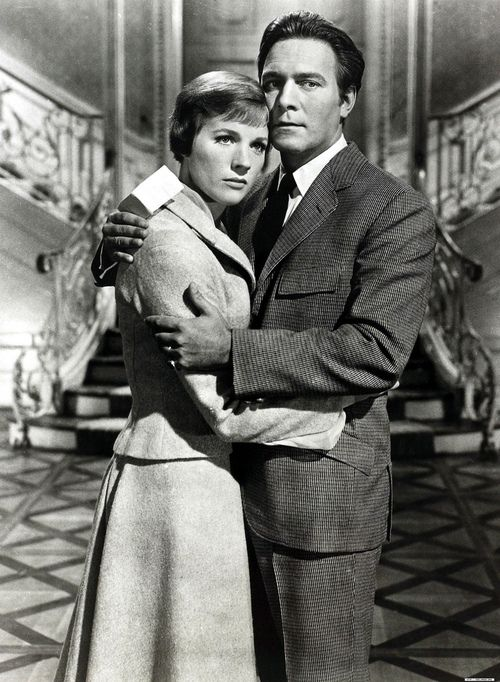 Julie Andrews and Christopher Plummer ~ This was the scene when Maria and Georg Von Trapp decided that they had to prepare the children so that the Von Trapp family could flee Austria and the Nazis.  This was right after Maria and Georg returned from their honeymoon.