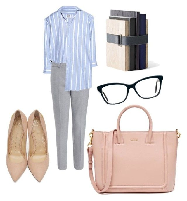 """Office"" by ariadna-sr on Polyvore featuring Vetements, Charlotte Olympia and Menu"