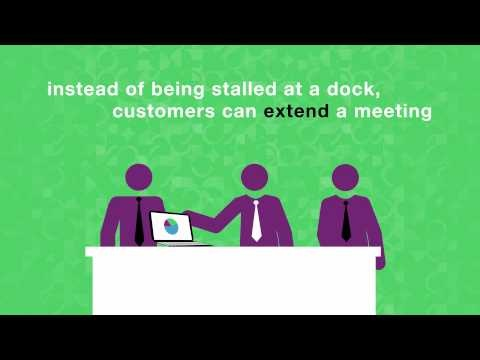 A 60 second social story about how the Red Funnel ferry service saves customers time by using social connections to keep them informed of near real-time arrivals and departures.