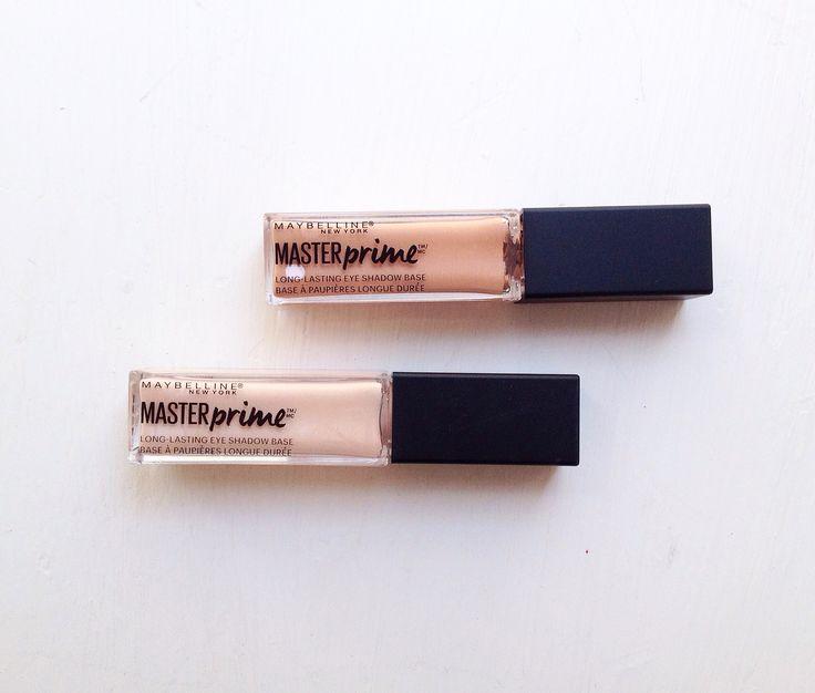 Maybelline  Master Prime Primer Para Sombras Satinadas y Matte   #maybelline #primer #makeup