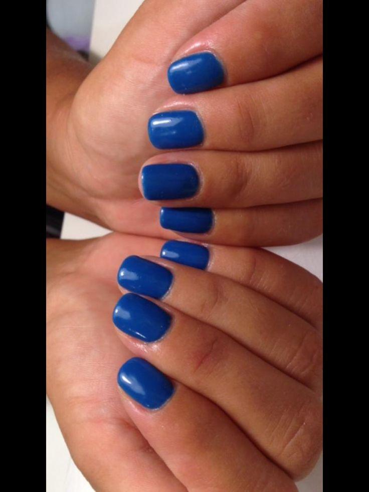 Smalto semipermanente blu