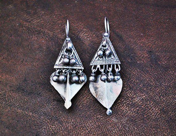 Tribal Rajasthan Earrings BY COSMIC NORBU