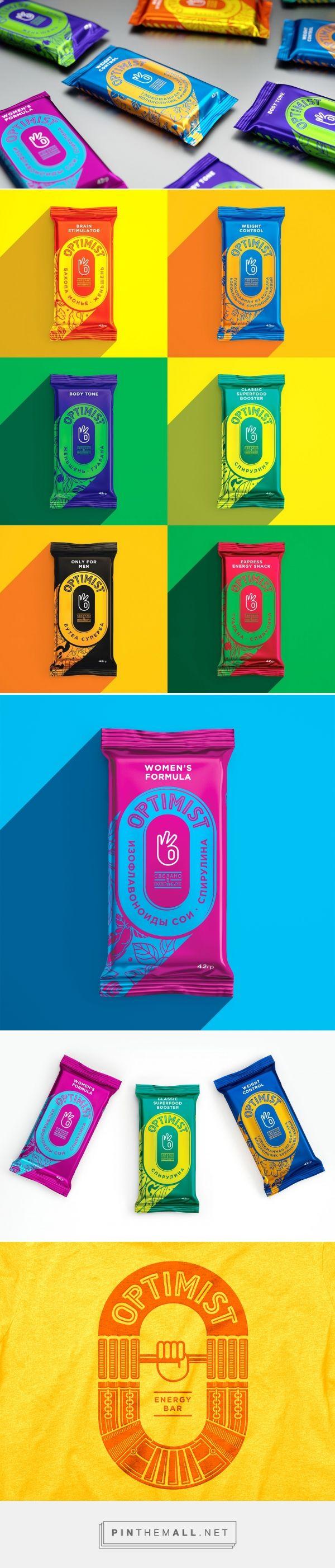 Optimist Energy Bars - Packaging of the World - Creative Package Design Gallery  - http://www.packagingoftheworld.com/2017/02/optimist.html