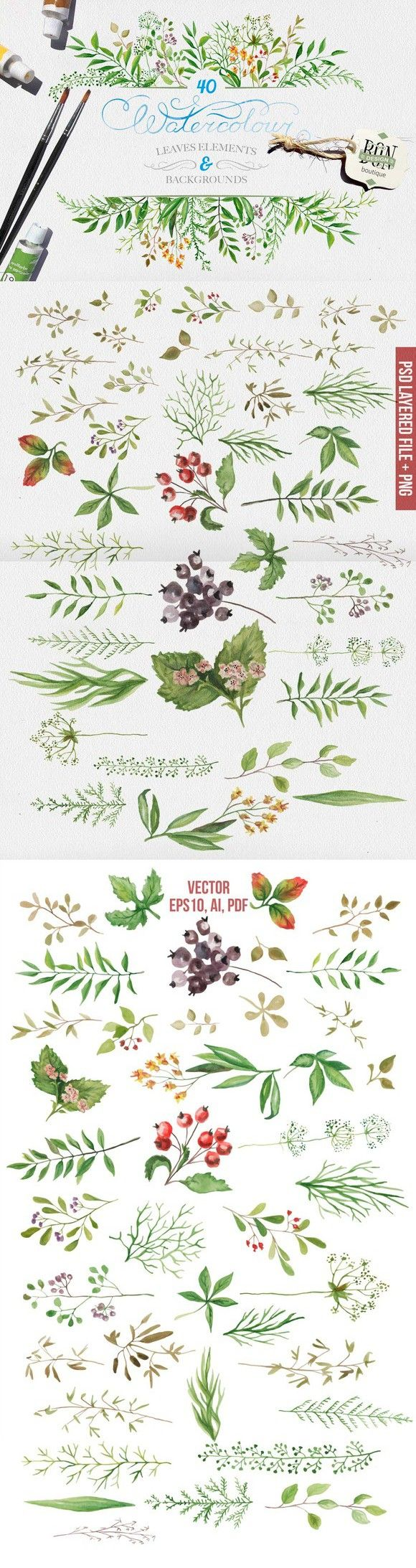best 25 watercolor leaves ideas on pinterest leaf illustration