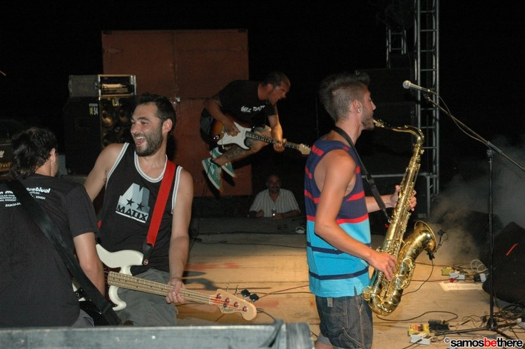 63 High at Ireon Music Festival Samos Island 2011