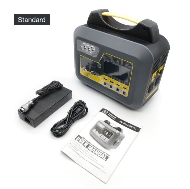 BOSSCAT AY006 500W Outdoor Portable Power Station Power