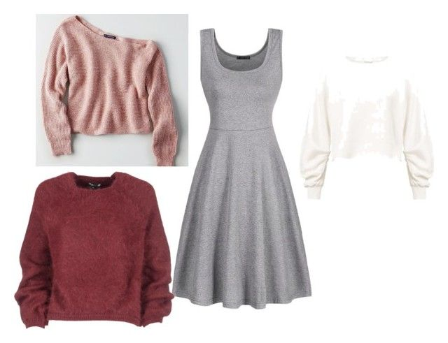 """""""платье"""" by natalka88-1 on Polyvore featuring American Eagle Outfitters, Tom Ford and Miss Selfridge"""