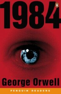 1984  By George Orwell  This book is an excellent ironic novel about politics. Since this book was published in 1949, it is already translated into 65 languages. It even was honored as the most effect classical novel in the twenty century. Click on the image for more information.