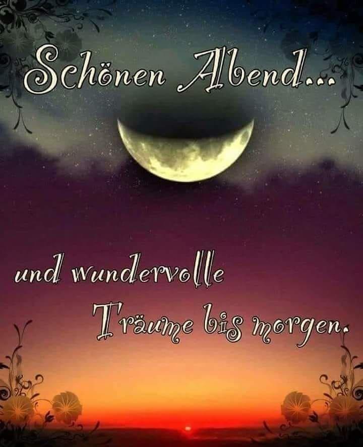 Wünsche Euch einen schönen Abend und eine gute Nacht