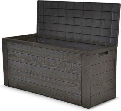 Auflagenbox Holz Optik Gartenbox Gartentruhe Auflagen Kissenbox Gartentruhe Jetzt bestellen unter: https://moebel.ladendirekt.de/garten/gartenmoebel/sitzauflagen/?uid=d3268a0b-4d00-5de6-bb87-6ab2bbdb024e&utm_source=pinterest&utm_medium=pin&utm_campaign=boards #heim #sitzauflagen #garten #gartenmoebel