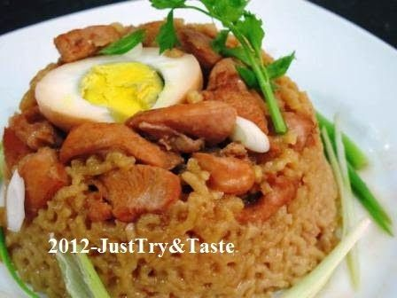 Just Try & Taste: Nasi Tim Ayam: Seriously Delicious!