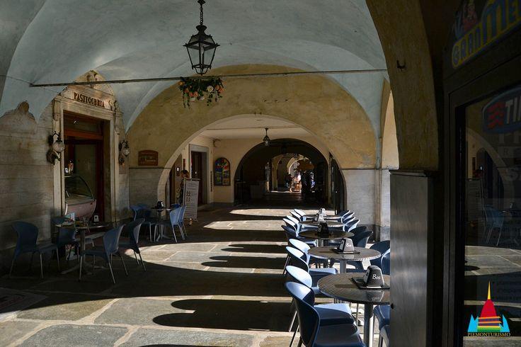 Fossano - I portici di via Roma