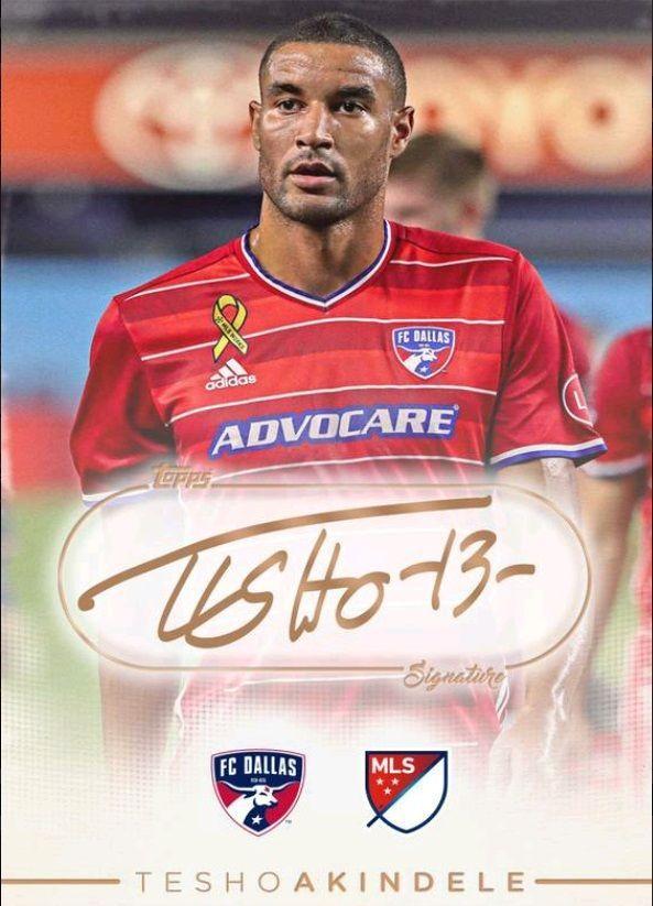 2016 Topps KICK MLS Signature Tesho Akindele Variant