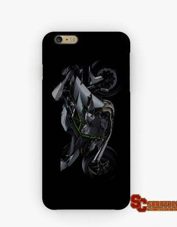 Kawasaki Ninja H2 Motorcycle | Apple iPhone 5 5s 5c 6 6s 7 Plus Samsung Galaxy S4 S5 S6 S7 EDGE Hard Case Cover