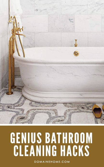 Genius hacks for cleaning up your bathroom really quickly.Genius Bathroom, Bathroom Cleaning Tips, Cleaning Organic, Bathroom Floors, Cleaning Hacks I, Bathroom Cleaning Hacks, Cleaning Products, Clean Bathroom Hacks, Genius Hacks