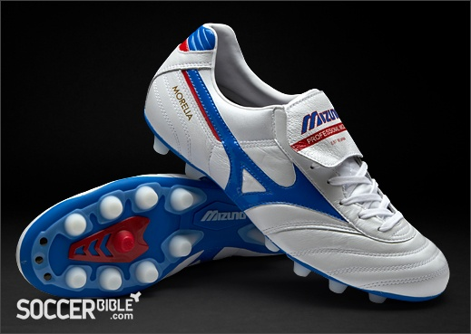 Mizuno Morelia Football Boots - Pearl/Blue/Red http://www.soccerbible.com/news/football-boots/archive/2012/04/27/mizuno-morelia-football-boots-pearl-blue-red.aspx