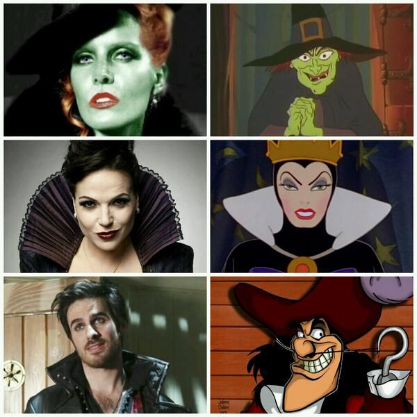 OUAT - Character comparisons