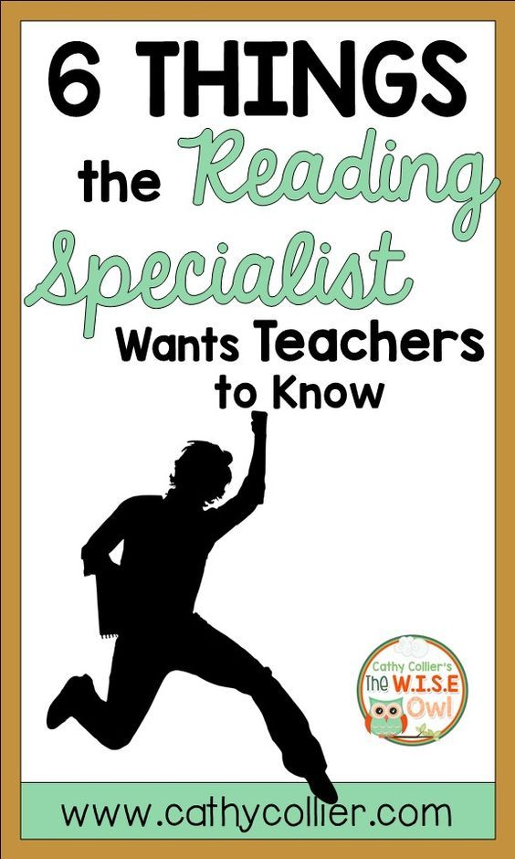 This one might be a little biased because I am a reading specialist, but I am trying to make a case for reading, reading, and reading. It's from the heart.