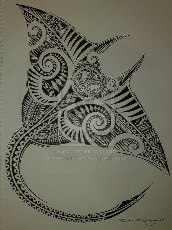manta ray designs | Polynesian Manta Ray by ~Tangaroa15 on deviantART