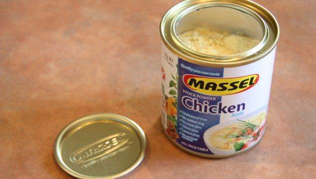 Massel gluten free Stock Powder (Chicken Style) Review - suitable for vegans and available in Coles and Woolworths!