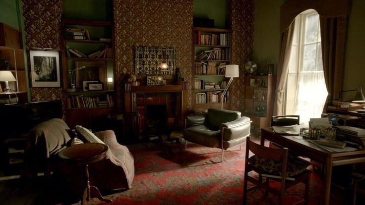 bbc sherlock apartment living in a tv set interior