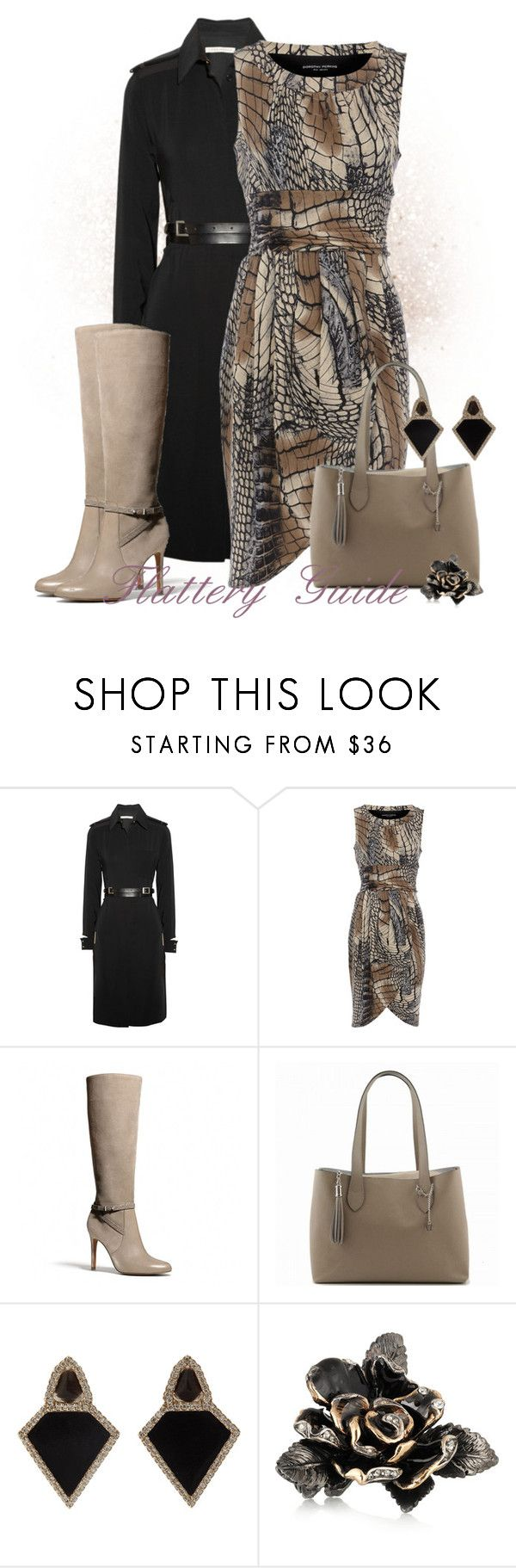 """Jessenia"" by flattery-guide ❤ liked on Polyvore featuring Victoria Beckham, Dorothy Perkins, Coach, Monique Péan and Roberto Cavalli"