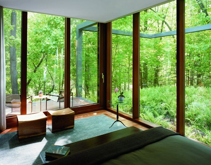 interior at Guest House, Dutchess County, United States by: Allied Works Architecture
