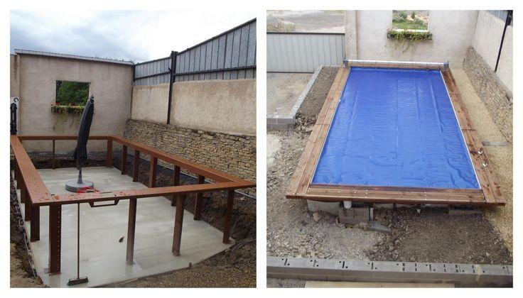 1000 id es sur le th me piscine bois rectangulaire sur for Prix piscine 5x3