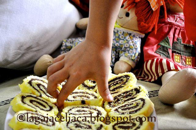 Rotolo alla nutella _ gluten free by mammagaia