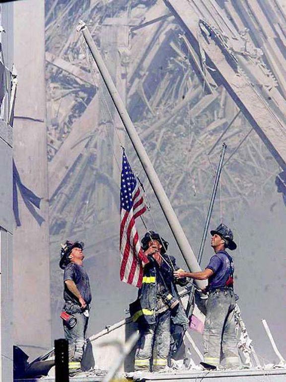 9/11 Firemen | Iconic Photos on WordPress.com.