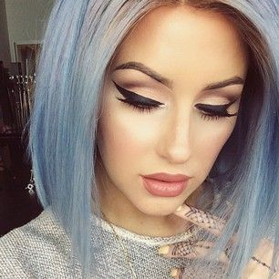 how to make hair styles for short hair 452 best such pretty makeup images on 7262 | 23d8a5d3519cb70a8e46aeb2e7262f87 pastel blue hair colorful hair