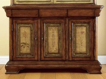 Hooker Furniture Vineyard 54-inch Buffet 478-75-900 - transitional - Buffets And Sideboards - Benjamin Rugs and Furniture