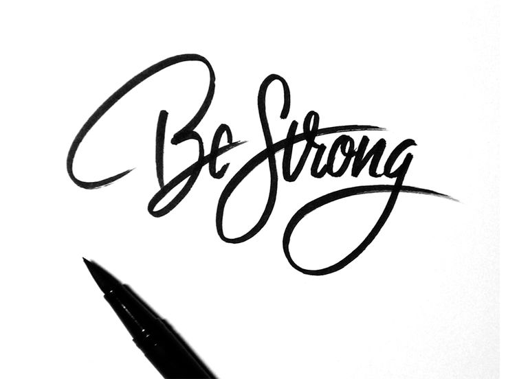Be Strong when all is lost be strong... for those you lost and those who still need you.