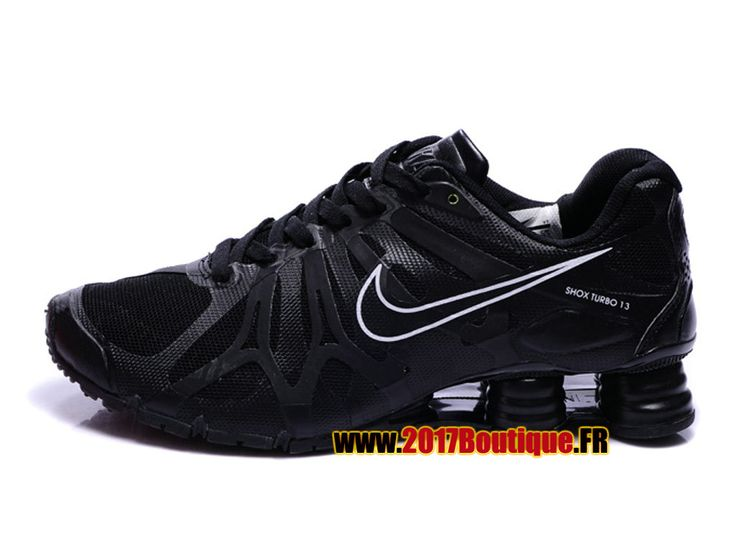 Nike Air Shox Turbo + 13 XIII Chaussures Nike Sportswear 2017 Pas Cher Pour Homme Noir