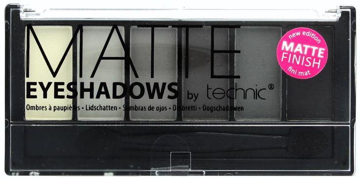 Η Technic Matte Smokey 6pc Eyeshadow είναι μία κασετίνα σκιών, που περιλαμβάνει 6 αποχρώσεις σε γκρι και ανθρακί τόνους. Ξεχωρίζουν για την ματ υφή τους που δίνει ένα τέλειο φινίρισμα στο μακιγιάζ των ματιών σας. Η κασετίνα περιέχει και πινελάκι εφαρμογής διπλής όψης.Περιεχόμενο: 6 X