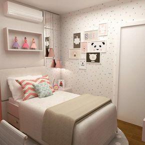 Dormitório menina by cas.arquitetosassociados http://discoverdmci.com