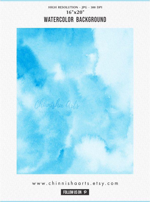 pastel textures Blue Watercolor pastel watercolor backgrounds Blue Digital Paper watercolor digital paper
