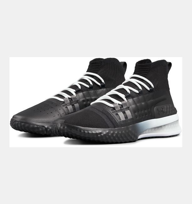finest selection 1ee89 c51fc Mens UA Project Rock 1 Training Shoes, Black , , Black , Click to view  full size