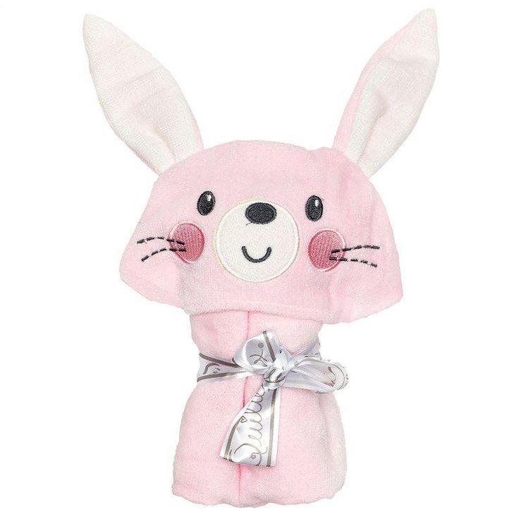 Bunny hooded towel artigos para bebe