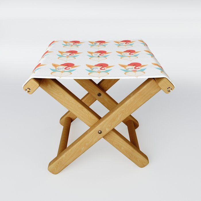 17 Inch Bare Decor Rocco Folding Stool in Solid Teak Wood Brown