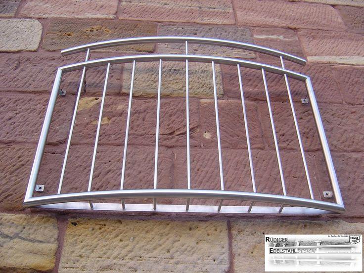 BGM-004 Edelstahlgeländer Fenstergitter französischer Balkon Balkongeländer