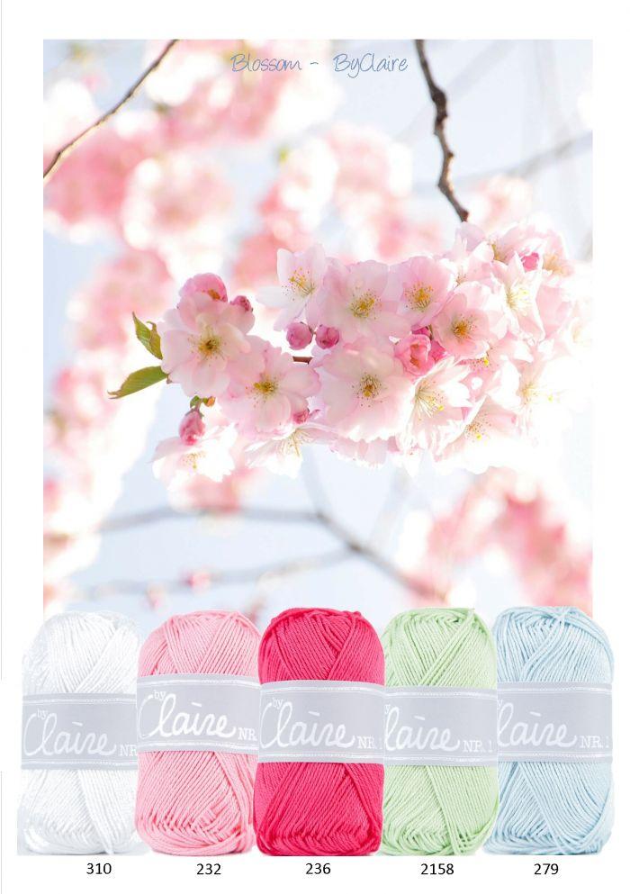 Kleurinspiratie - Blossom ByClaire. Mooi kleurenpalet van pasteltinten met fuchsia als accent kleur. Wit - roze - licht groen en  baby blauw.