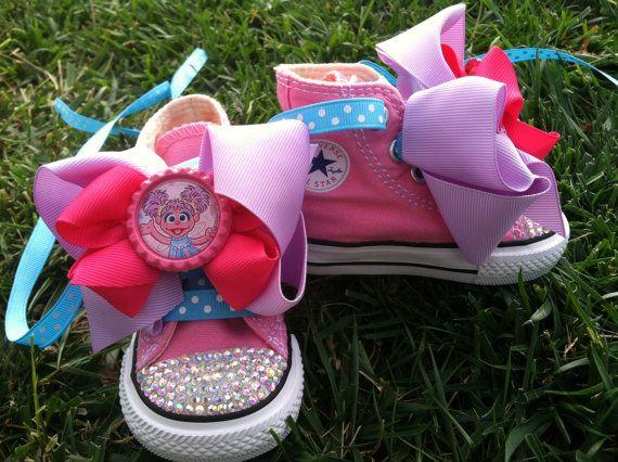 ABBY CADABBY SHOES  Abby Cadabby Birthday Party  by SparkleToes3, $69.99