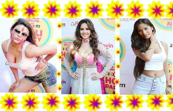 Holi Celebration Pics of #SunnyLeone , Rakhi Sawant and #PoonamPandey  ♥♥   Watch Here: - http://www.nyoozflix.com/holi-pics-of-sunny-rakhi-and-poonam-pandey/  #BollywoodGossips   #Page3